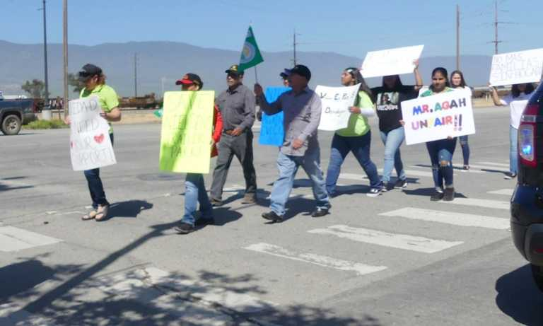 Nielsen Trailer Park residents march to save their homes