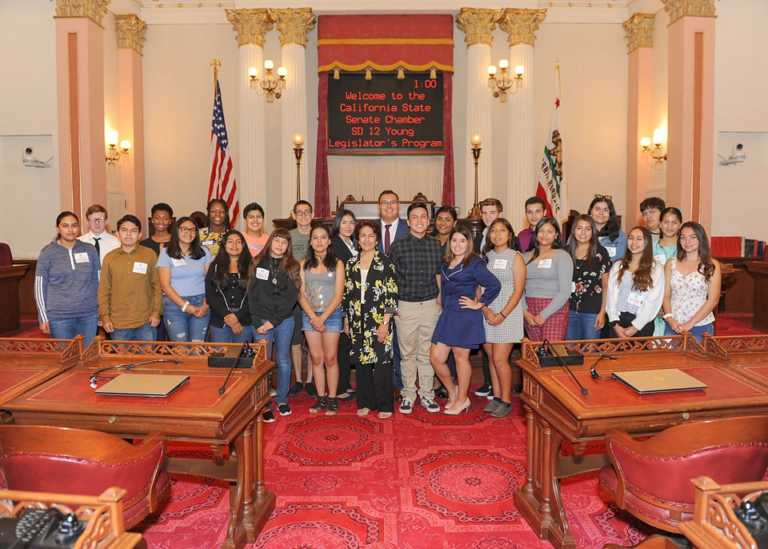 Youth learn about government through Young Legislators Program