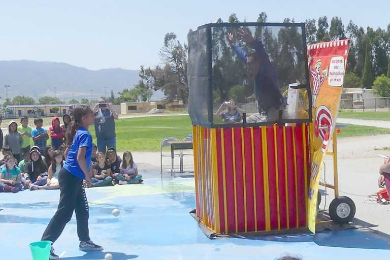 Elementary principal gets dunked by readers
