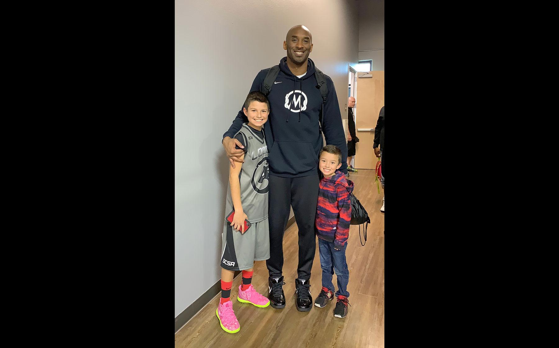 Kobe Bryant spent time with Soledad